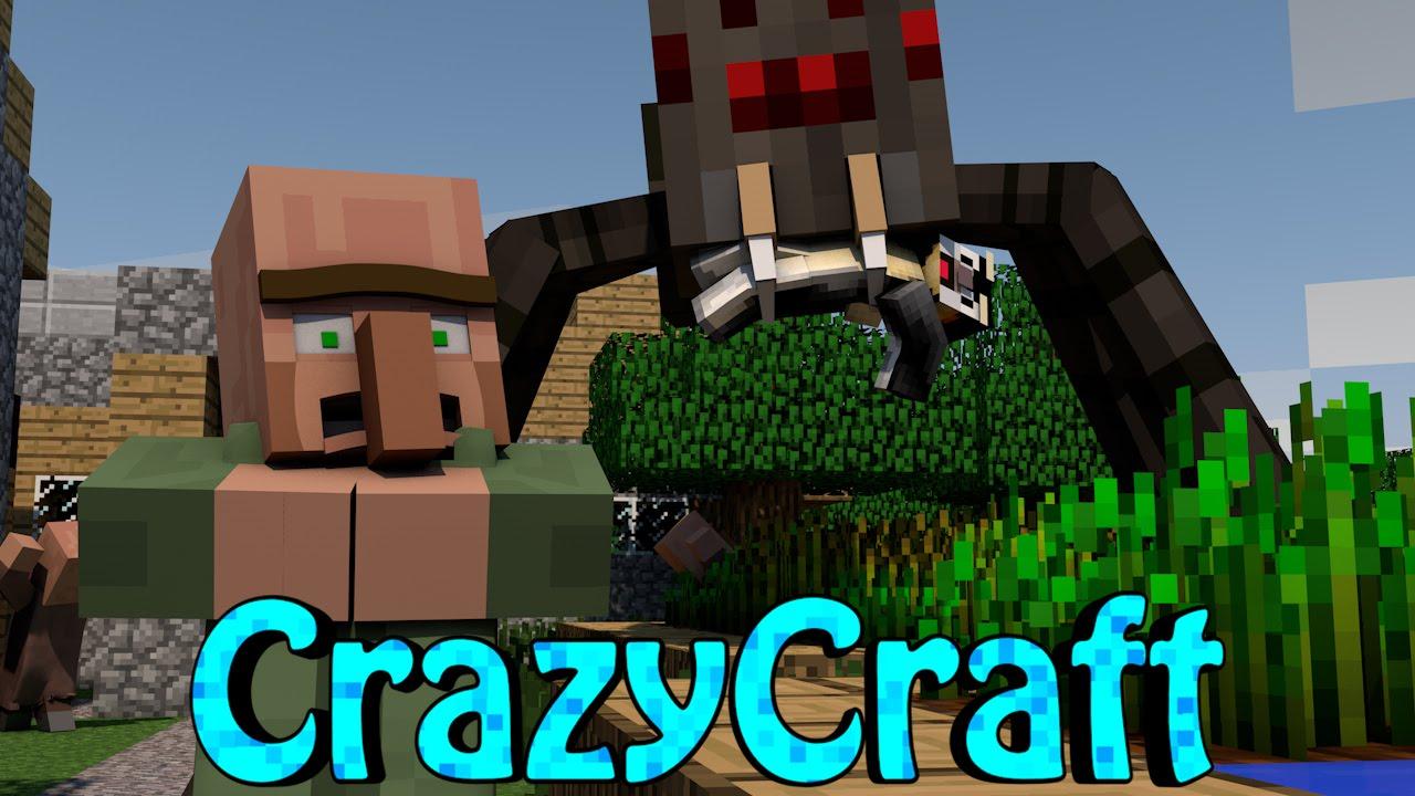 Minecraft crazycraft 2 0 orespawn modded survival ep 143 quot crazy