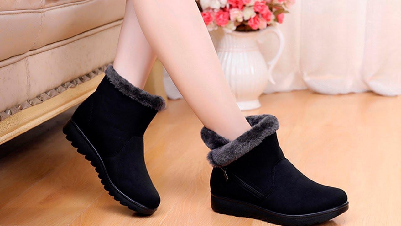8 пар лучшей женской зимней обуви/best women's winter shoes с AliExpress