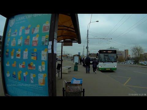 Как я остановку автобуса М6 искал и каков на деле интервал 5-10 минут