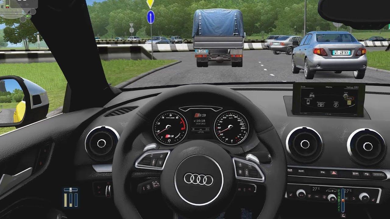 City Car Driving Audi S3 Sedan Fast