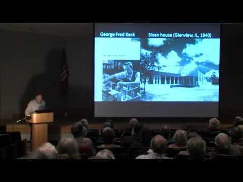 Anthony Denzer at Saturday U: The Solar House, Then and Now