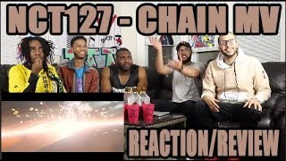 Baixar NCT 127 - CHAIN MV REACTION/REVIEW