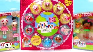 Lalaloopsy Tinies Jewelry and Sisters Packs!
