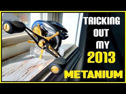 I CUSTOMIZE MY 2013 SHIMANO METANIUM!