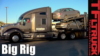 Big Rig Car Transporter: Up Close and Personal (Pt. 2 Follow Up)