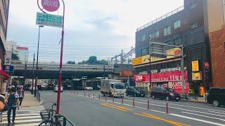 東京 : 西日暮里駅のまわりをぷらっと散歩 4K/Osmo Pocket