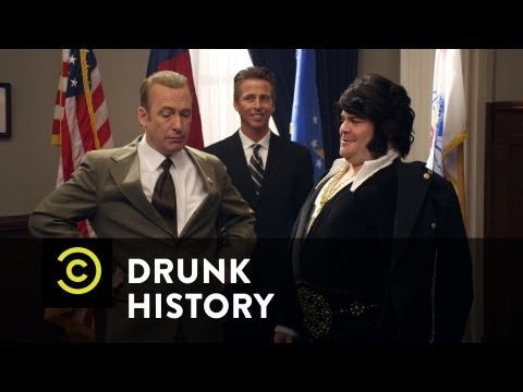 'Drunk History' Shows How The Famous Elvis/Nixon Meeting Really Went Down (VIDEO)