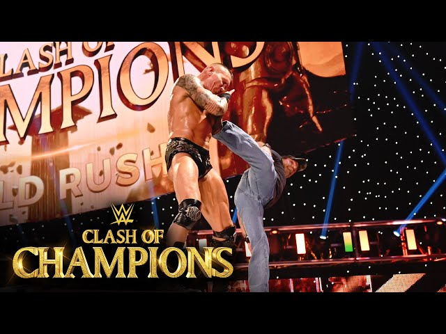 Shawn Michaels sends Randy Orton flying with Sweet Chin Music: WWE Clash of Champions 2020