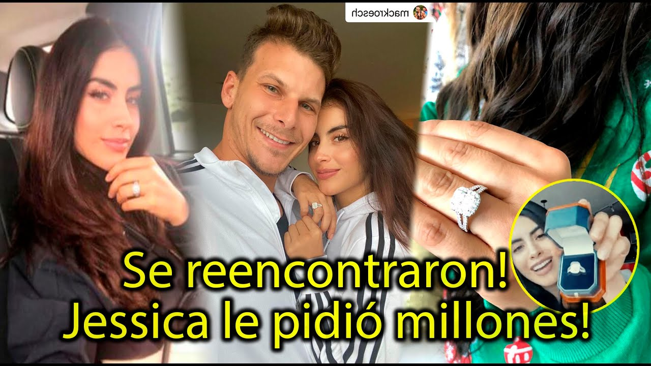 Jessica Cediel devolvió el anillo? pidió dinero a su exnovio Mack Roesch para entregarlo