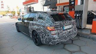 2020 BMW M340i TOURING (G21) SPIED TESTING AT THE NÜRBURGRING