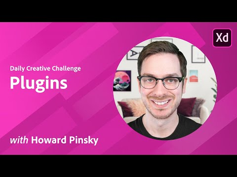 Adobe XD Daily Creative Challenge - Plugins