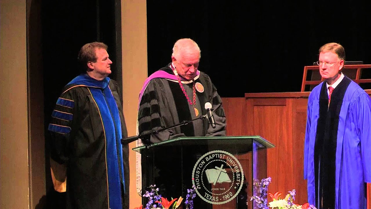 HBU Commencement August 2014 YouTube