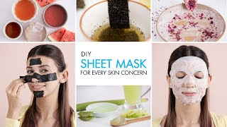 Transform Your Skin With This Korean Skincare Trend | DIY Sheet Masks For Every Skin Type