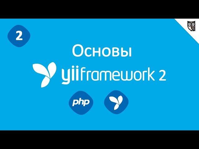 Базовая структура приложения на Yii2