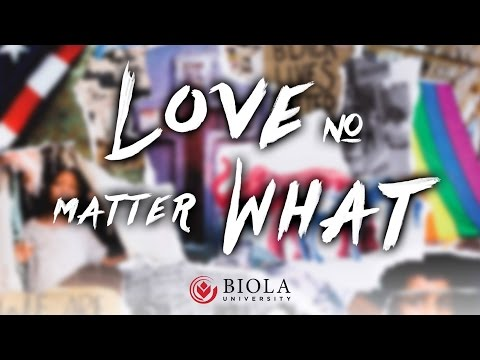 Love No Matter What: Politics, Sex, Race and the Way of the Cross
