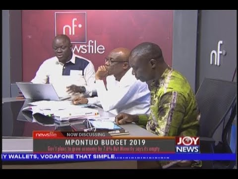 MPOMTUO BUDGET 2019 - Newsfile on JoyNews (17-11-18)