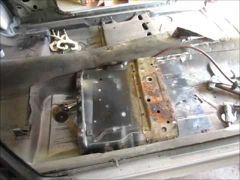 1968 Camaro firewall/floor pan replacement part 2