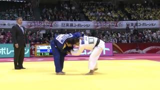 ZANTARAIA Georgii  UKR  - ABE Hifumi JPN . - 66 kg.  Grand Slam Tokyo 2014