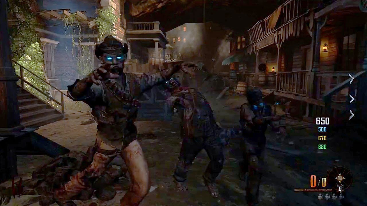 New Buried Zombies Gameplay! Black Ops 2 Vengeance DLC Map (Call of on