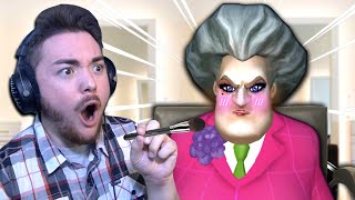 I Gave Hello Neighbor's Sister AN EXTREME MAKEOVER!!! | Scary Teacher 3D