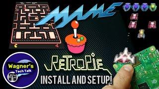 How To: Install RetroPie 4 4 and Setup MAME on a Raspberry Pi 3B+ Play  ARCADE GAMES!