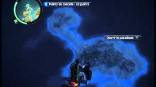 Just Cause 2 -Biggest Quad jump
