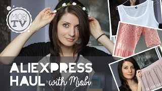 Aliexpress Haul with Miobi (SK+ENG sub)