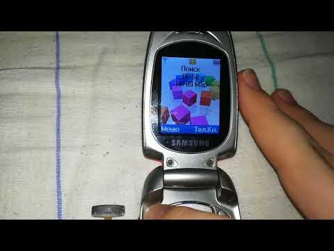 Samsung sgh-x480 мини обзор