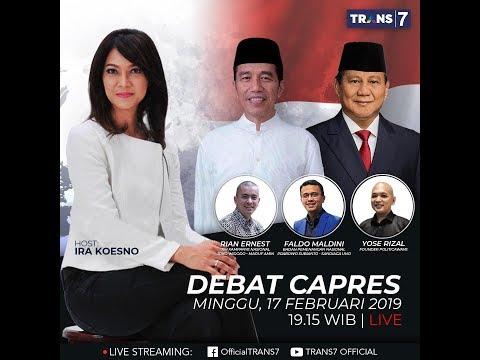 Live Streaming Debat