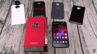 Moto Z2 Force Unboxing And First Impressions