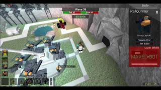 Roblox [Tower Battles] Trying To Beat The Revamped Void Without Zed On 1v1 xD