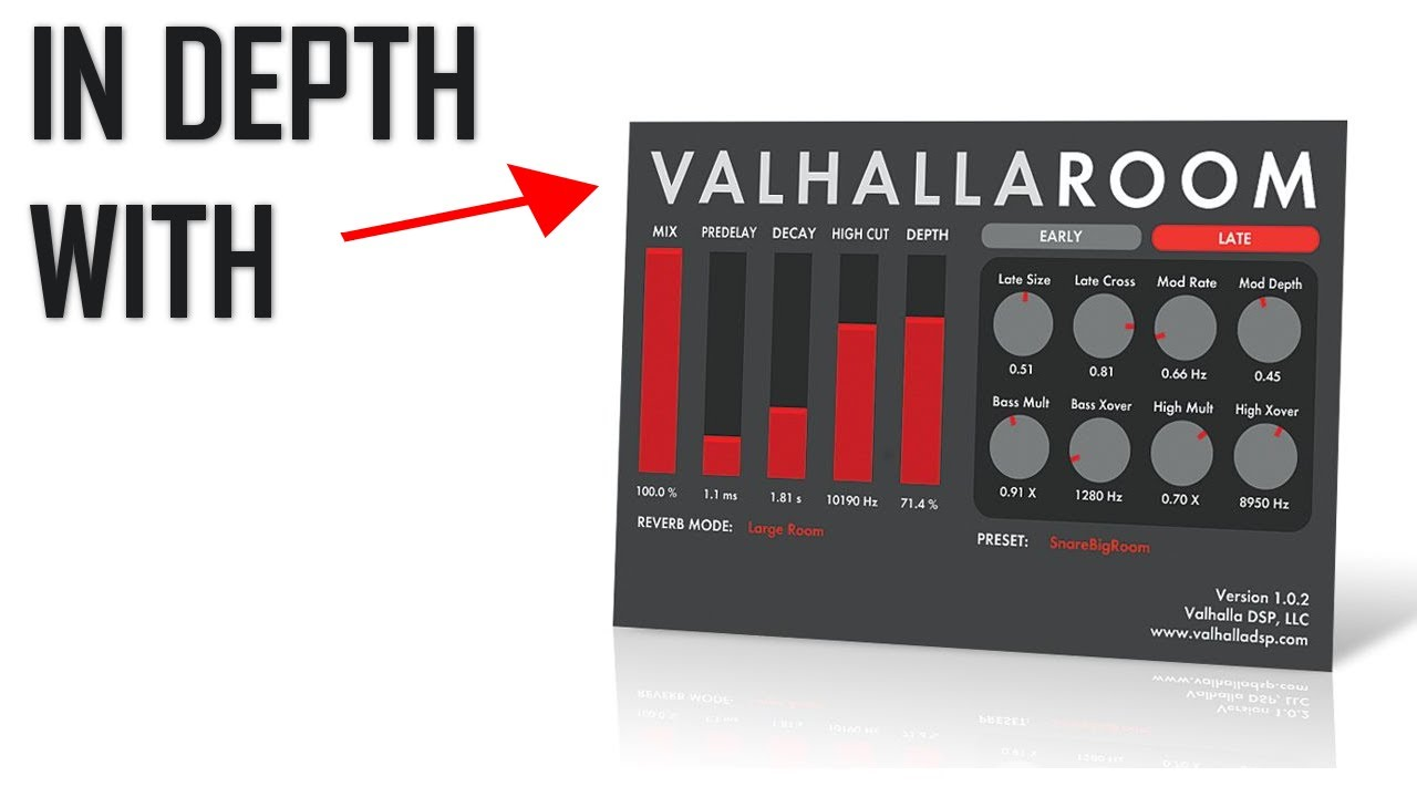 vst plugin valhallaroom free