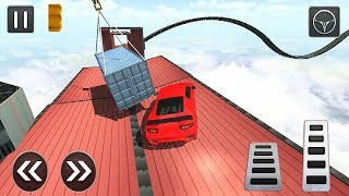 Impossible Stunt Car Tracks Game 2019 | Android Gameplay   Free Games Download   Car Gams Download