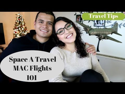Space A Travel & MAC Flights 101 | Military Free Flights | NOV 2017