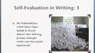 writing a self evaluation Most employers require supervisors and managers to complete annual performance reviews of the workers who report to them as part of the process, you may be asked to provide an assessment of your own work.