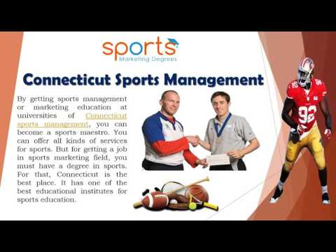 How To Make Career In Connecticut Sports Management University