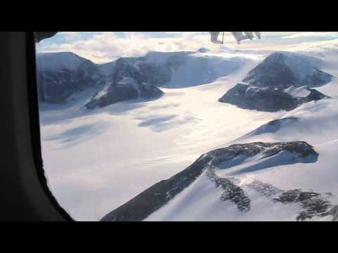 Transantarctic Mountains Flyover in Twin Otter Aircraft