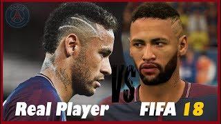 FIFA 18 - PSG PLAYER FACES VS REAL LIFE COMPARISON
