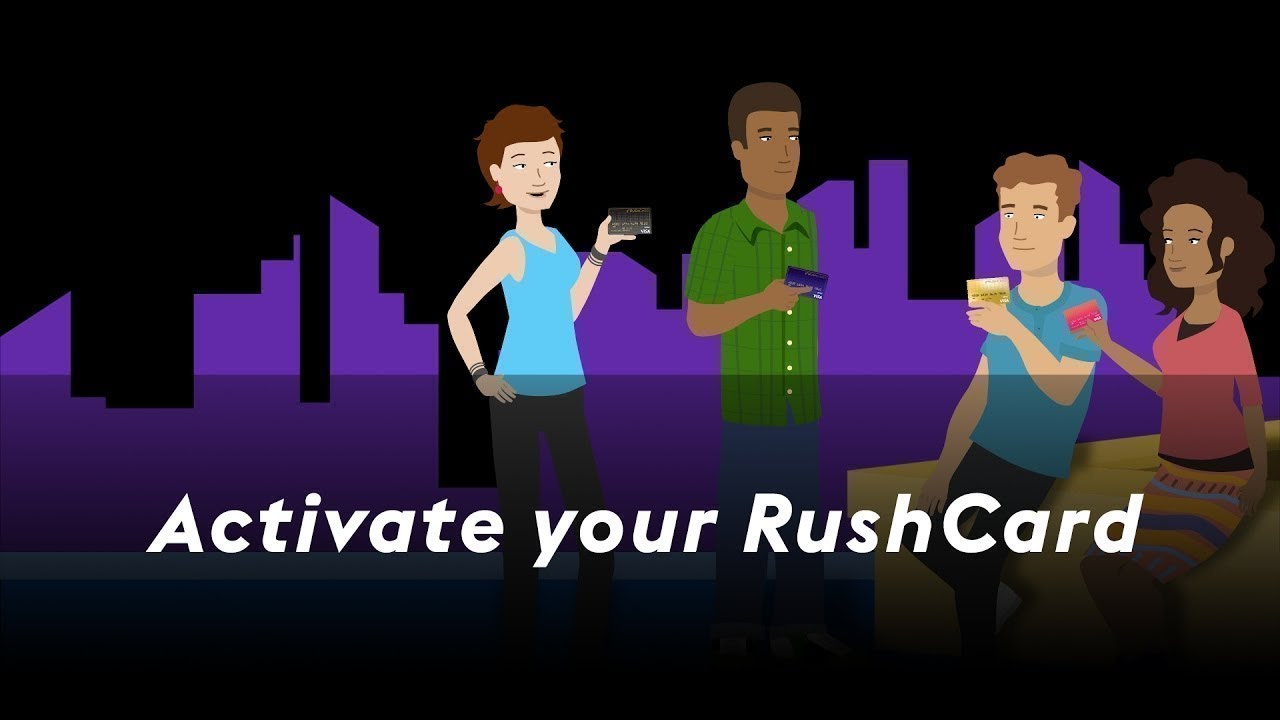 How To Activate Your Rushcard