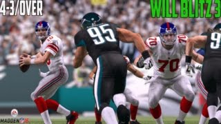 Madden 16 Tips -4-3 Over/Will Blitz 3