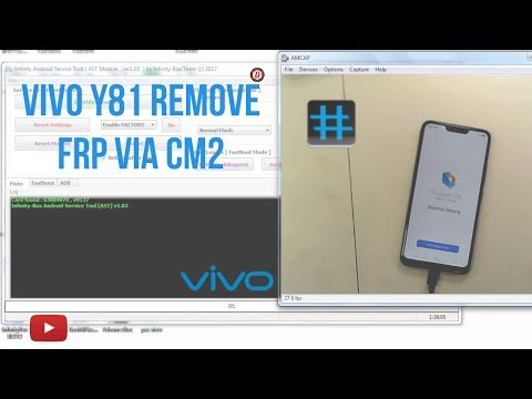 Vivo y81 FRP Unlock||Fix Demo Mode Via CM2 - YouTube