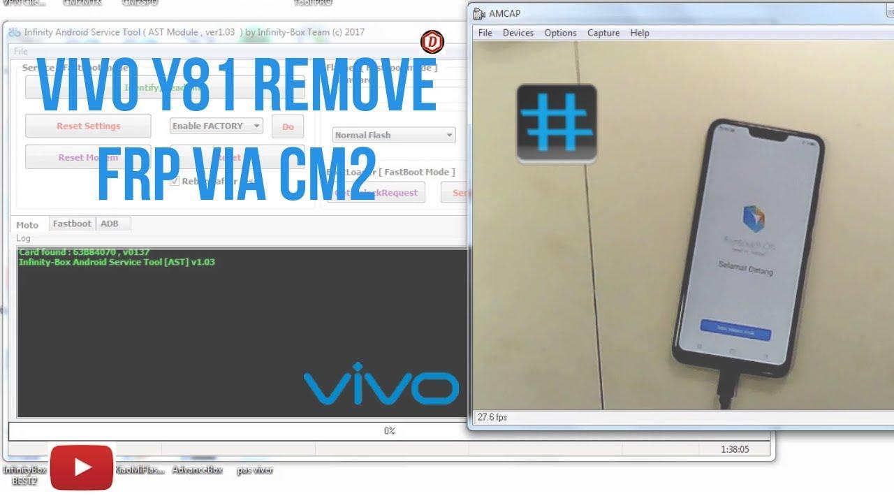 Vivo y81 FRP Unlock||Fix Demo Mode Via CM2