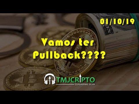 Análise Bitcoin - BTC - 01/10/2019 - Vamos Ter Pullback????
