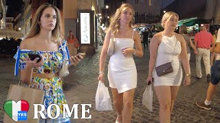 🇮🇹 ROME NIGHTLIFE DISTRICT ITALY 2021 [FULL TOUR]