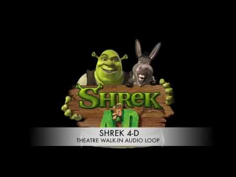 SHREK 4-D Attraction Audio - Theatre Walk...