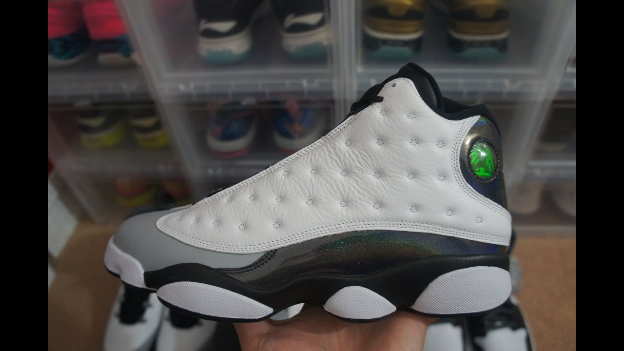 Air Jordan Xiii De Casier De Pied