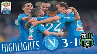 Napoli - Sassuolo 3-1 - Highlights - Giornata 11 - Serie A TIM 2017/18