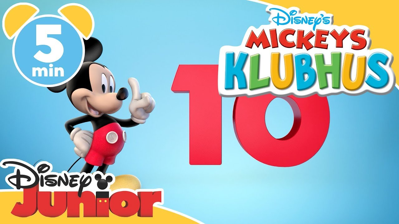 Mickeys Klubhus | Lær at tælle til 10! - Disney Junior Danmark
