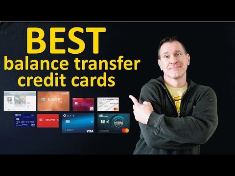 Best Balance Transfer Credit Cards 2020