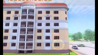 видео Элементы блокированных жилых домов